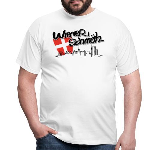 WienerSchmäh Altes Logo weiß - Männer T-Shirt
