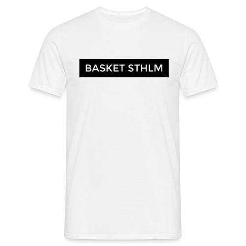 BASKET STHLM logo png - Men's T-Shirt