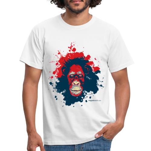 Monkey Text png - Männer T-Shirt