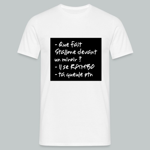 stallone png - T-shirt Homme