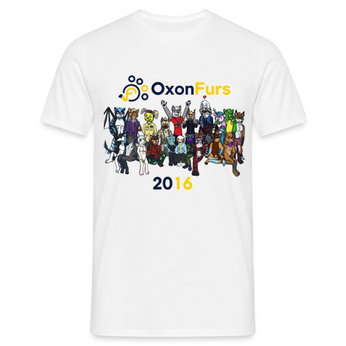 Oxonfurs Group 2016 - Men's T-Shirt