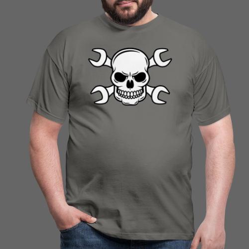 MEKKER SKULL - Herre-T-shirt