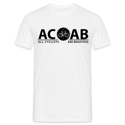 ACAB ALL CYCLISTS - Männer T-Shirt