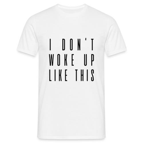 wokeup - Männer T-Shirt