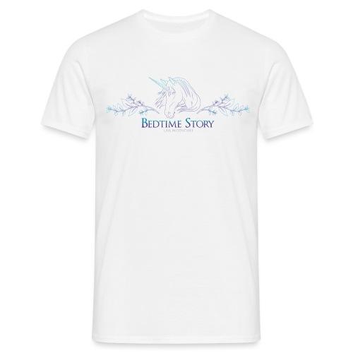 Bedtime_Story_White - Männer T-Shirt