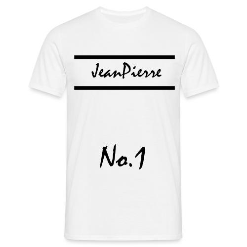 JeanPierreNo1 png - Männer T-Shirt