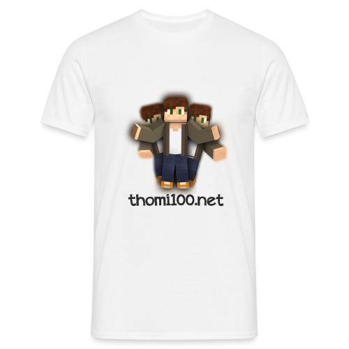 Dreiskinlogo definitiv png - Männer T-Shirt