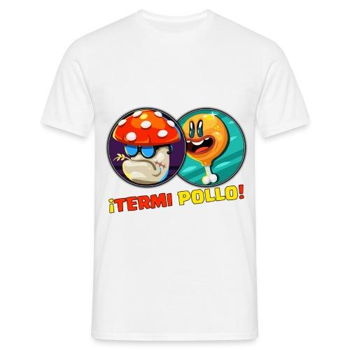 TERMI POLLO png - Camiseta hombre