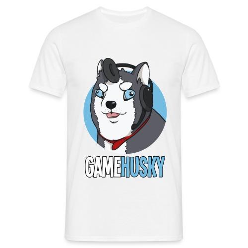 GameHusky Logo Scritta - Maglietta da uomo