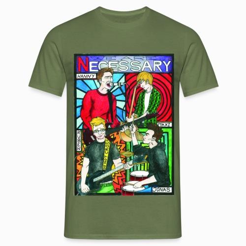 Necessary one - Männer T-Shirt