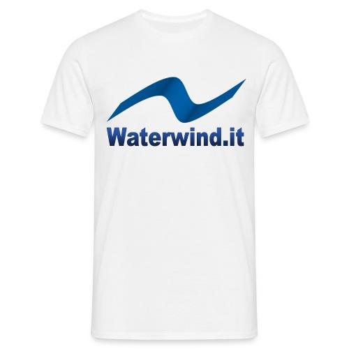 logo waterwindpuntoit no sfondo png - Men's T-Shirt