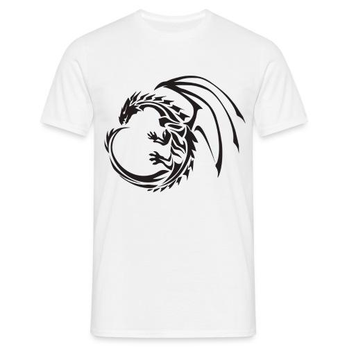 dragon PNG981 png - Men's T-Shirt