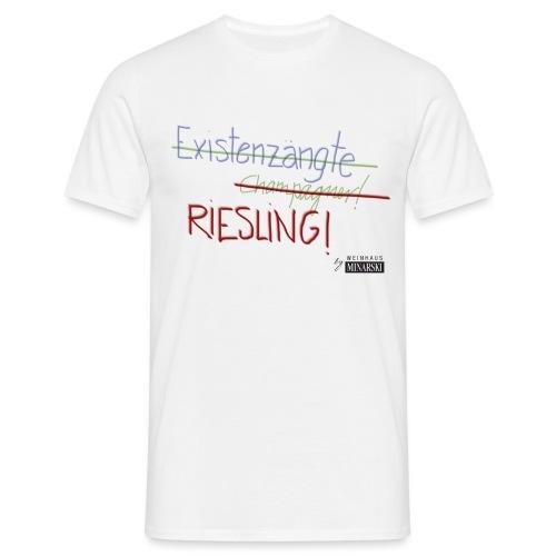 Existenzängste 2 png - Männer T-Shirt