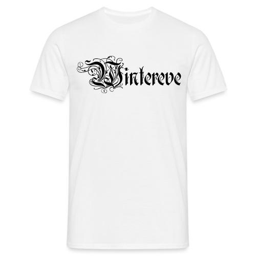 Logo Wintereve noir - T-shirt Homme