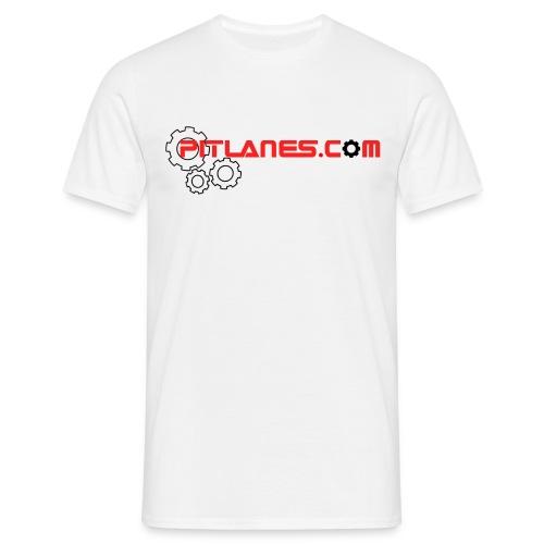 PITLANES LOGO COGS 2017 - Men's T-Shirt