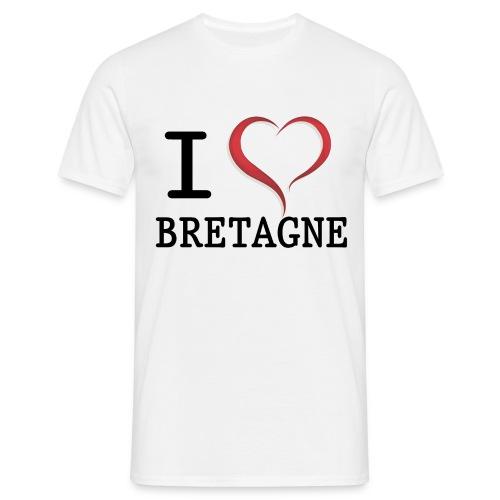 i love bretagne design - T-shirt Homme