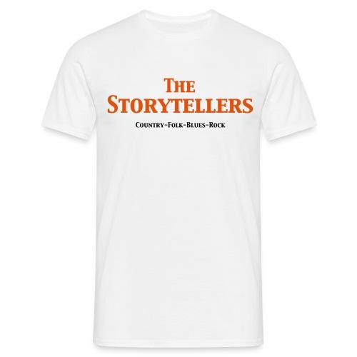 Storytellers Schriftzug - Männer T-Shirt