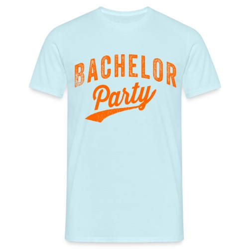 Bachelor Party oranje - Mannen T-shirt