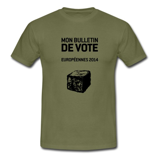 bulletin_europeene - T-shirt Homme