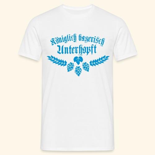 Königlich bayerisch unterhopft - Männer T-Shirt