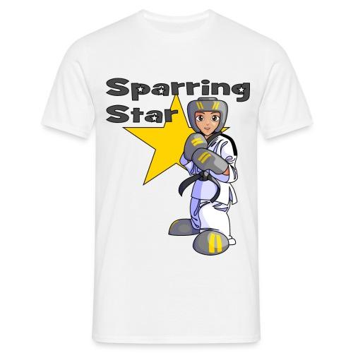 tkdkidblack2 png - Men's T-Shirt
