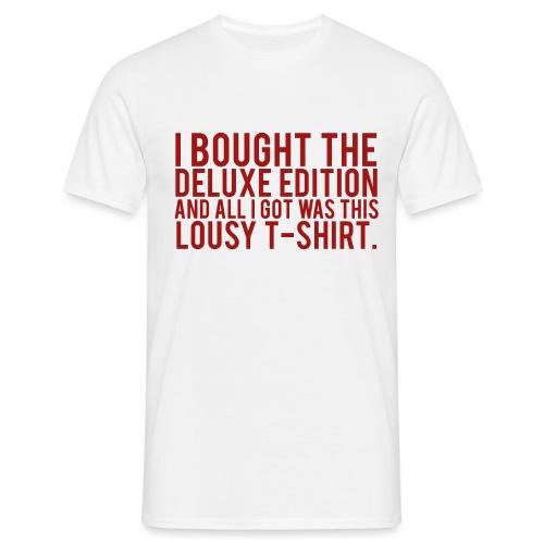 DELUXE EDITION. - Men's T-Shirt