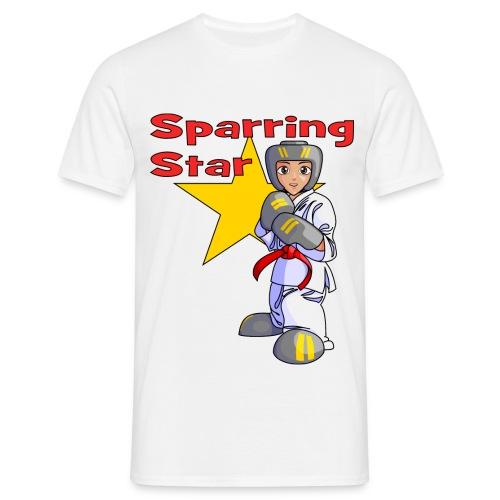 tkdkidred2 png - Men's T-Shirt