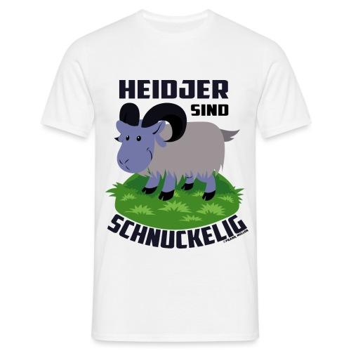 Heidschnucke Fiete - Männer T-Shirt