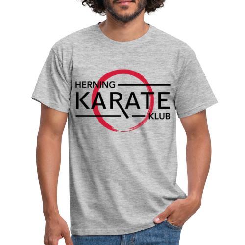 HKK Sort - Herre-T-shirt