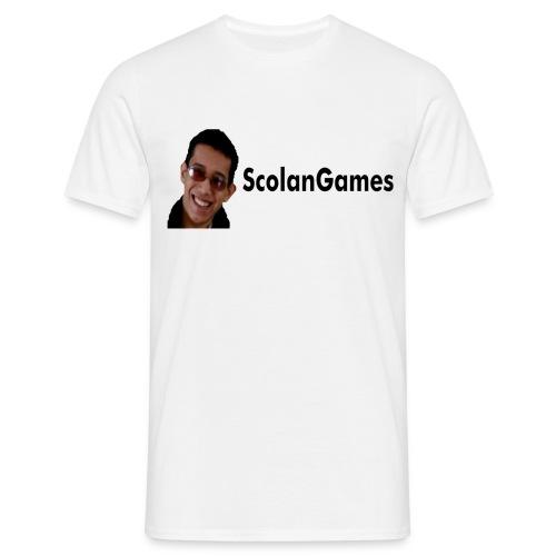 ScolanGames Logo - Mannen T-shirt