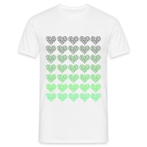 green hearts 4 caibu - Männer T-Shirt