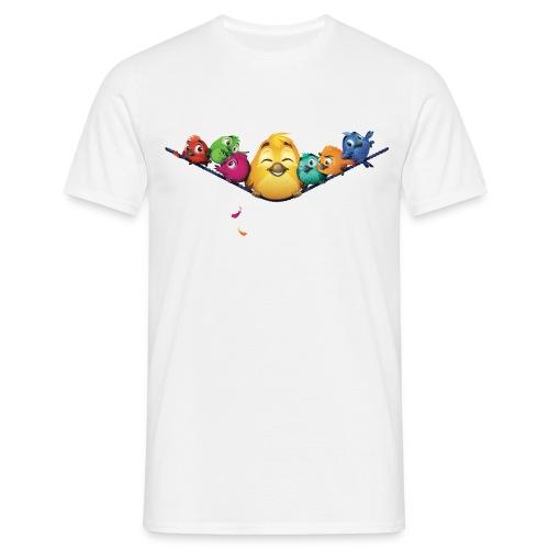 fluffy tshirt final - Männer T-Shirt