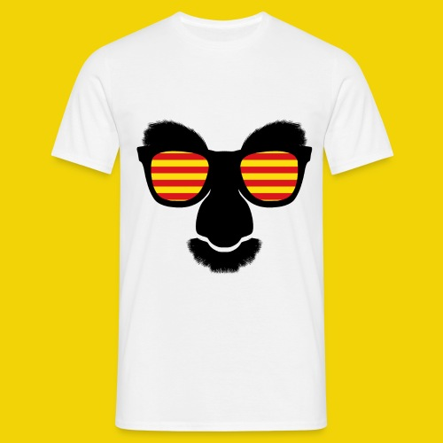 Catalan Mask - Men's T-Shirt