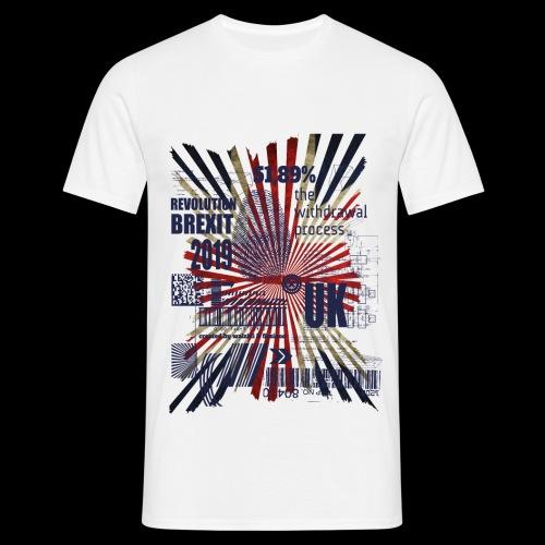 T Shirt Brexit RZ 01 - Männer T-Shirt