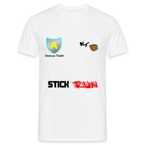 stickrun2 - Männer T-Shirt
