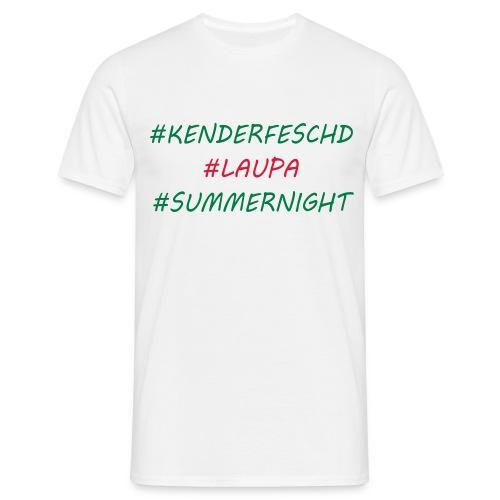 Kenderfeschd Laupa - Männer T-Shirt