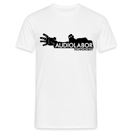 Audiolabor Techno Robot Mens Hoodie - Men's T-Shirt