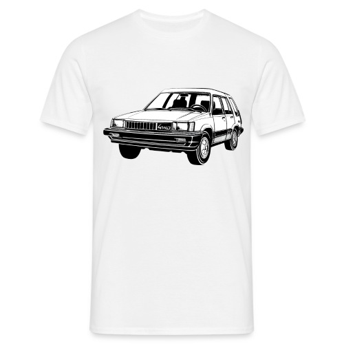 Tercel 4WD illustration - Autonaut.com - Men's T-Shirt