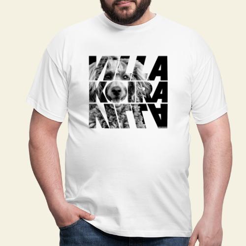 Villakoira Nassu III - Miesten t-paita