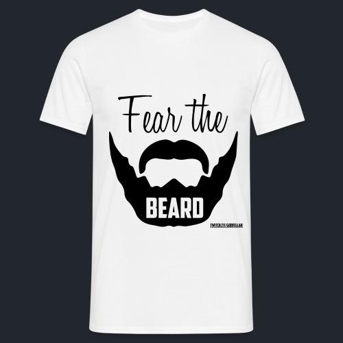 FearTheBeard - Männer T-Shirt