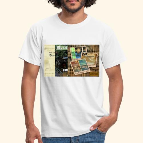 3 albums by M & The Congregation - Männer T-Shirt