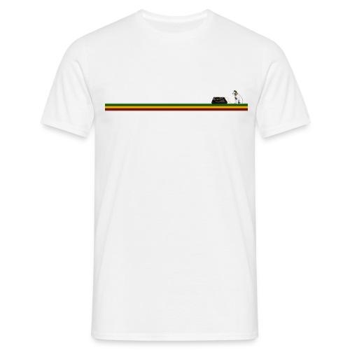 reggaesta rasta t big png - Men's T-Shirt