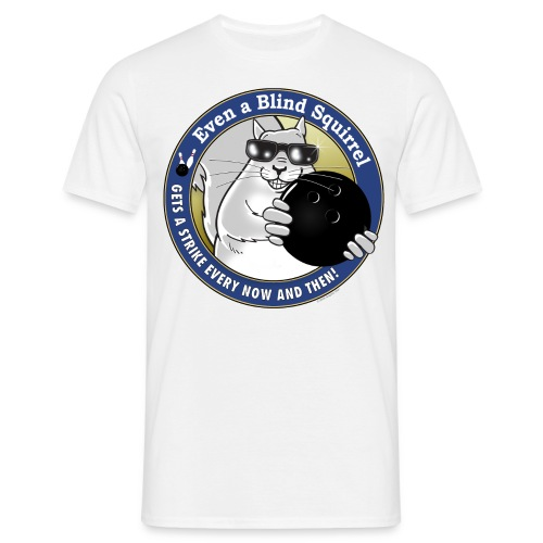 Blind Squirrel Bowling - Men's T-Shirt