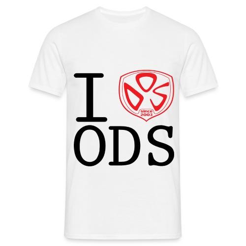 I Love ODS - Maglietta da uomo