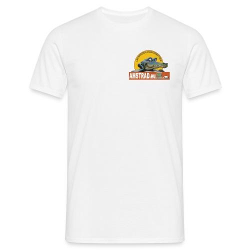 logo_amstrad_eu_transp - T-shirt Homme