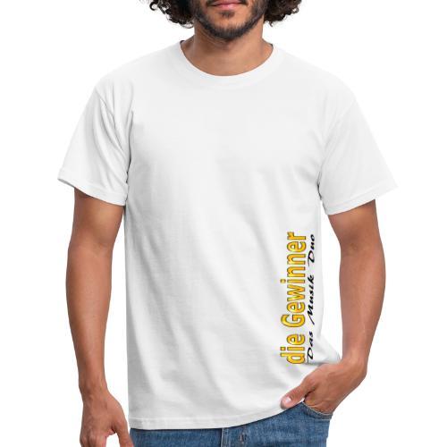 Das Moderne Schwarze Etwas Schräg - Männer T-Shirt