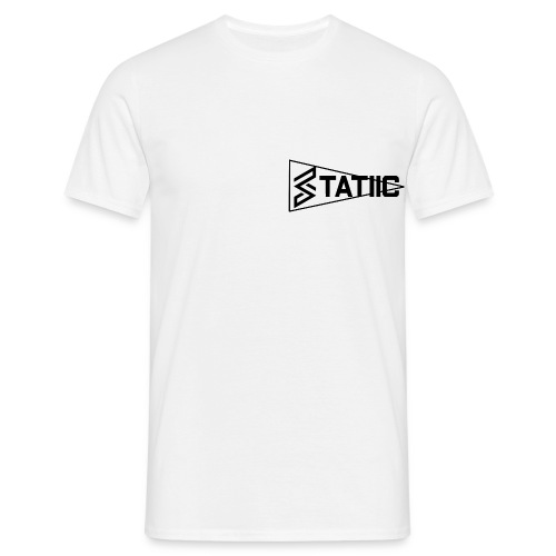 statiic text png - Men's T-Shirt