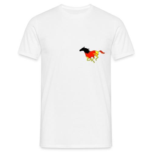 Galoppo Germania - rilievo - Maglietta da uomo