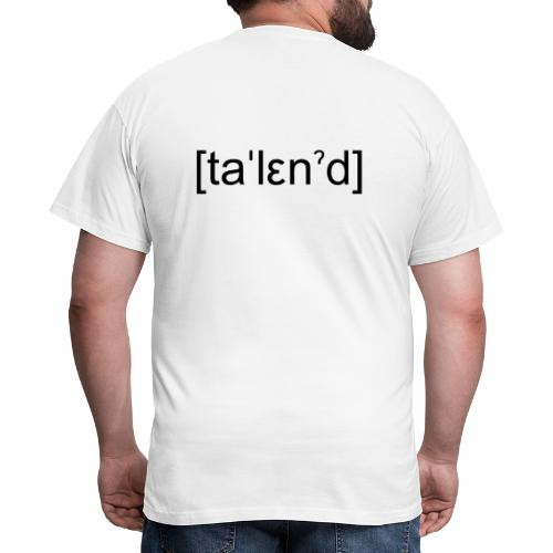 Talent - Herre-T-shirt