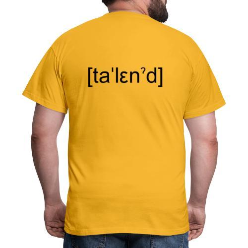 Talent - Herre-T-shirt